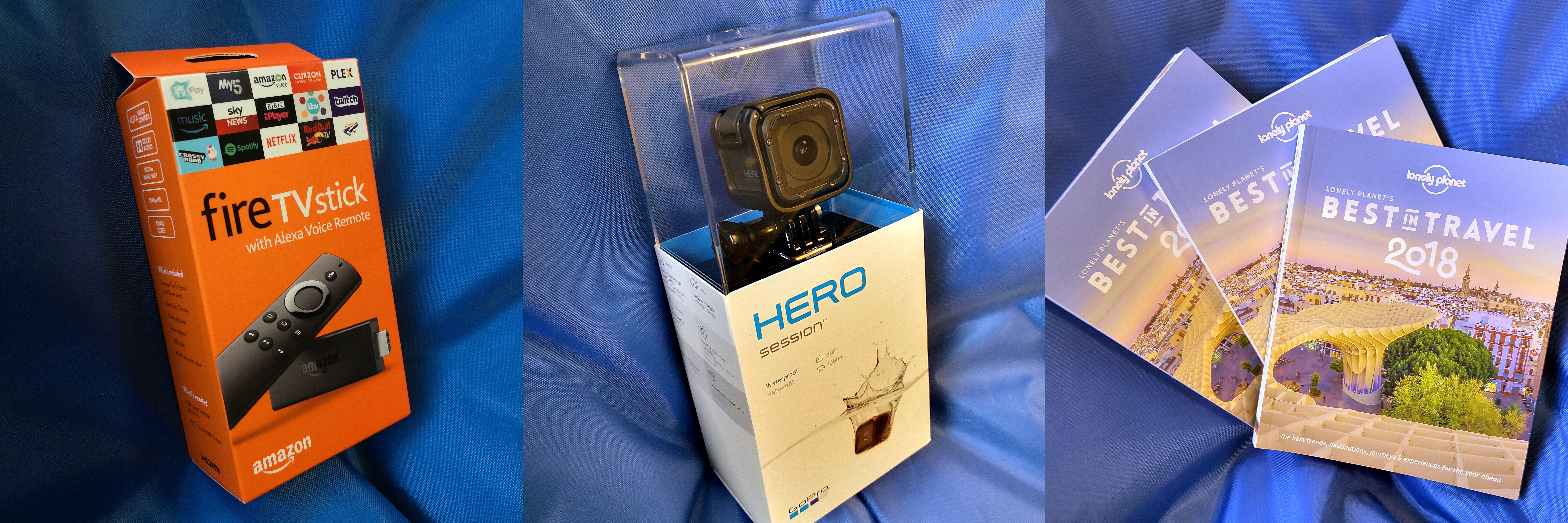 GoPro go pro prizes competition quiz christmas